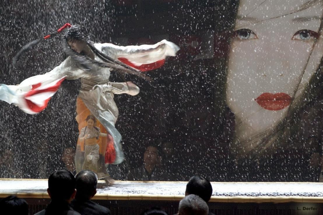 """Memoria di una Geisha"",                      dal libro alfilm"