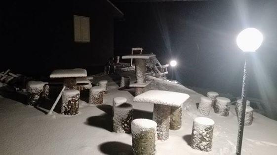Prima neve sui Monti Simbruini e sugliErnici