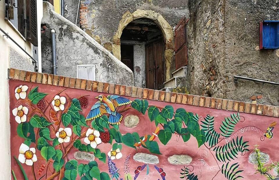 L'arte al borgo, work in progress aPaliano