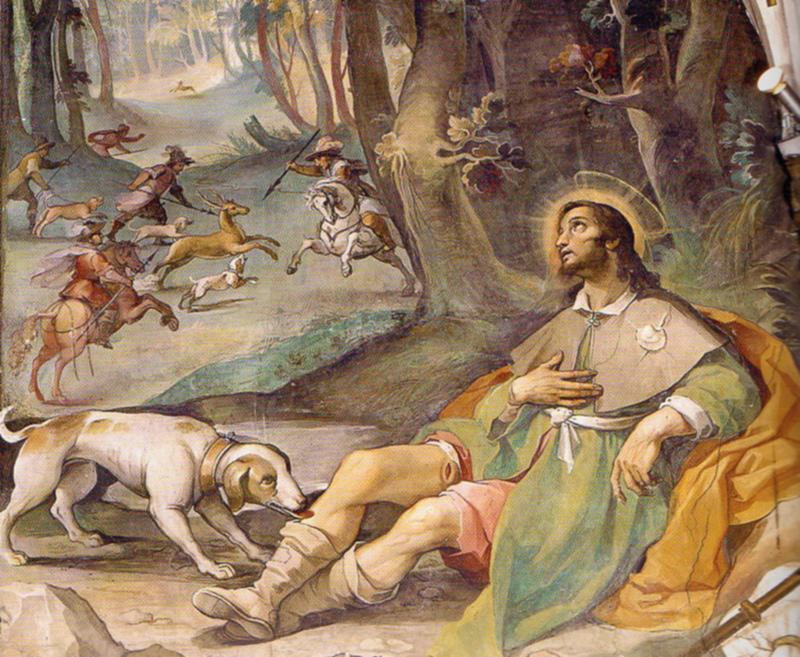 San Rocco, il verdepellegrino