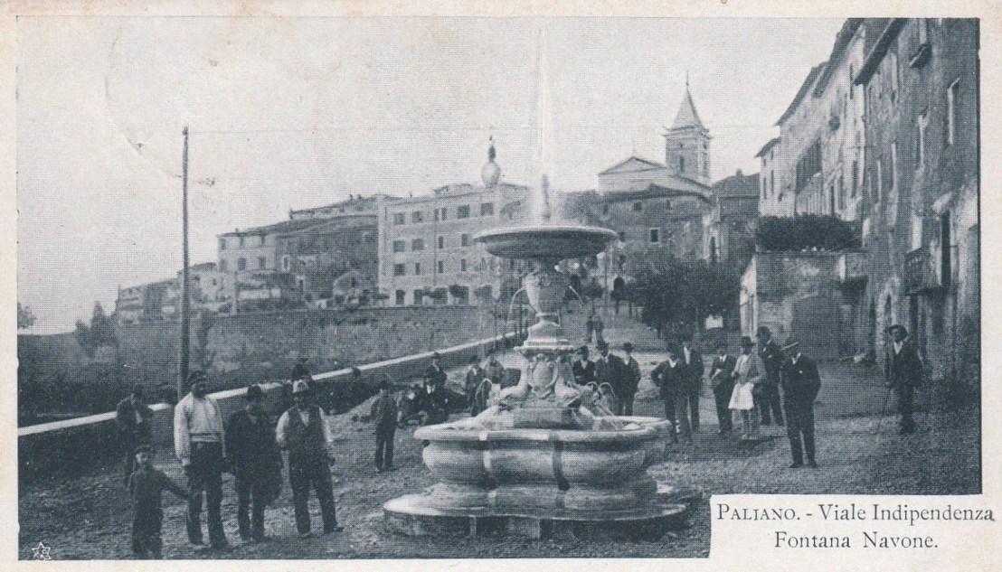 Paliano 1904, l'arrivo dell'energia elettrica e dell'acqua potabile
