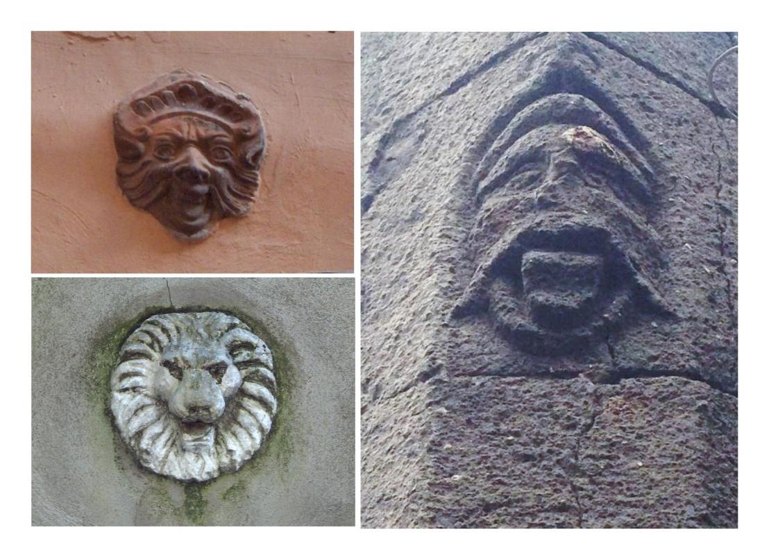 Simboli apotropaici nel centro storico diPaliano