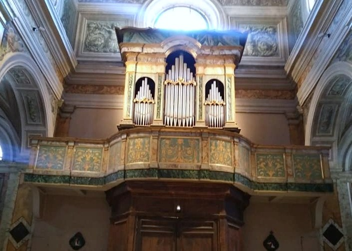Paliano 1727, l'Organo Catarinozzi della Collegiata di S. AndreaApostolo